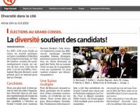 L'Association «Diversité dans la cité»