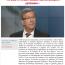 Interview au journal L'Économiste maghrébin : «Le Qatar et l'Arabie saoudite sont des pompiers pyromanes»