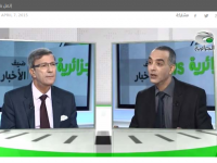 Ali Benouari, Interview sur el Djazairia TV
