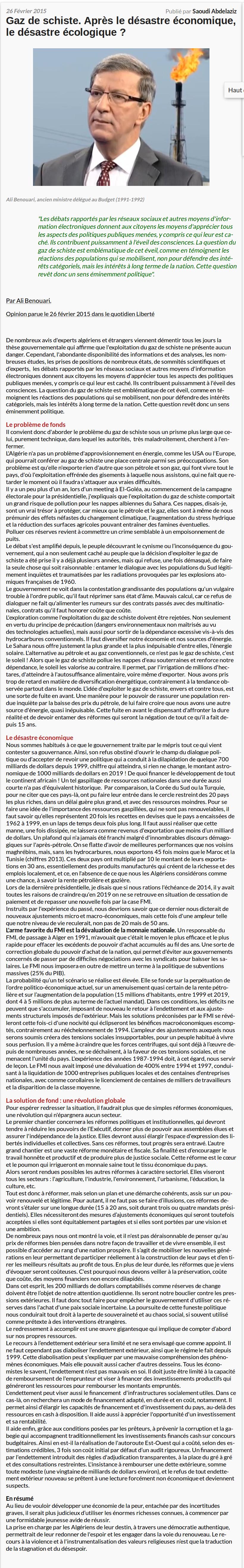 ali-benouari-journal-algerie-infos-gaz-de-schiste-apres-le-desastre-economique-le-desastre-ecologique