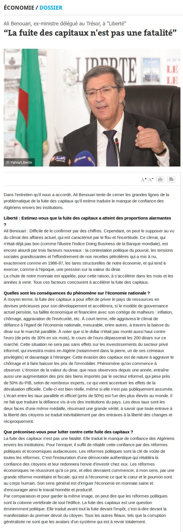 ali-benouari-journal-liberte-la-fuite-des-capitaux-n-est-pas-une-fatalite-18022015