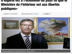 Ali Benouari, OuVaLAlgerie.com : «la Banque d'Algérie est à l'économie du pays ce que le Ministère de l'intérieur est aux libertés publiques»